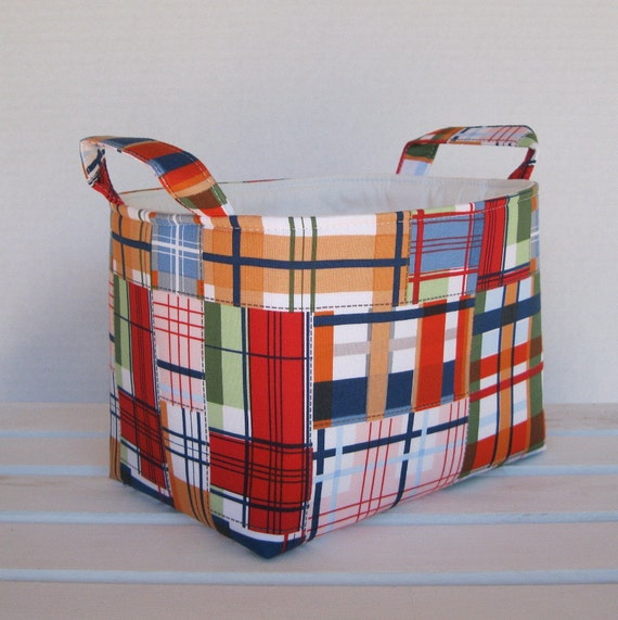 Madras Storage Baskets: Items Similar To Storage And Organization