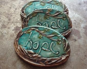 Hope Inspirational Cuff Bracelet Bead