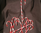 Handmade Glass Candy Cane Ornaments made to order