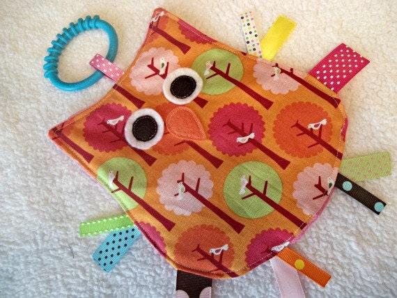Crinkle Toy OWL  Sensory Toy