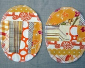 Patchwork Knee Patches - set of 2 Sunny