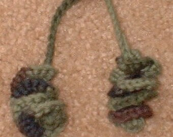 Curly Hair Tie, Crochet