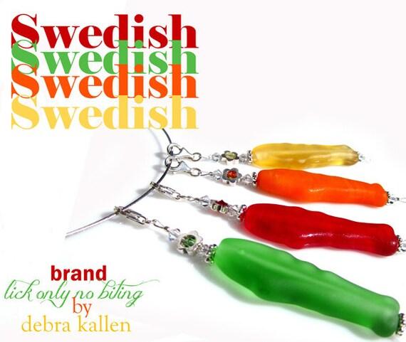 Swedish Fish Pendant