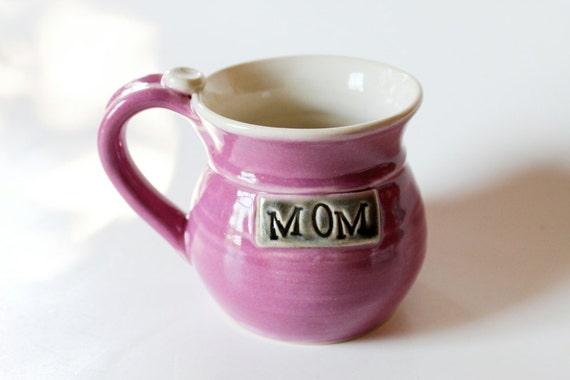 Engraved Mug Handmade Mom Mug  Pink Mug Please allow 6 Weeks