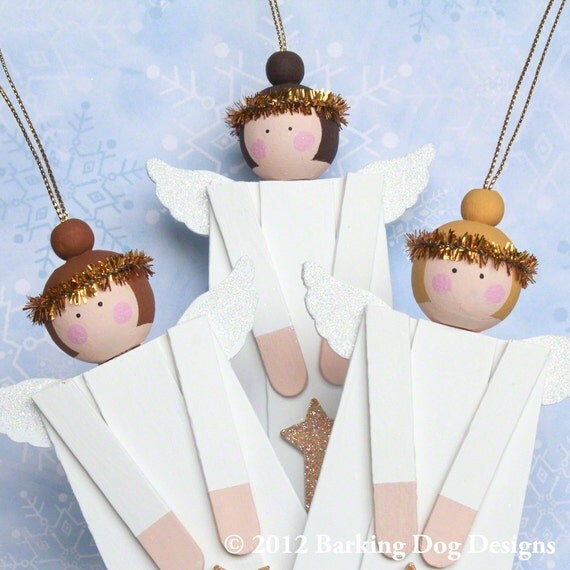 Angel christmas ornament christmas tree decoration for Angel decoration