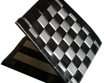 Duct Tape Wallet - Black & Silver