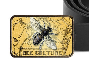 Antique Style Bee Belt Buckle