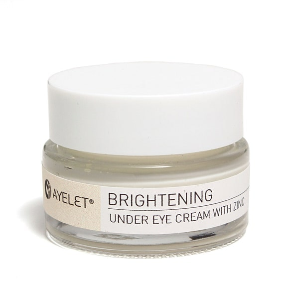 Under Eye Cream with Zinc Green Coffee and Tea and cucumber Extracts - Sample