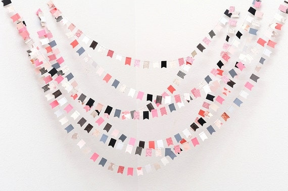 LAST AVAILABLE ONE Wedding Garland Le Parisien 35', Wedding, Bridal Shower, Baby Shower, Photo prop, Home Decor, Birthday, Party