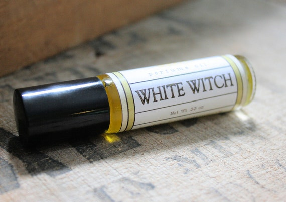 White Witch Perfume Oil Coconut Hemp Roll On