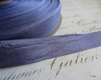 Periwinkle Vintage Seam Binding Ribbon
