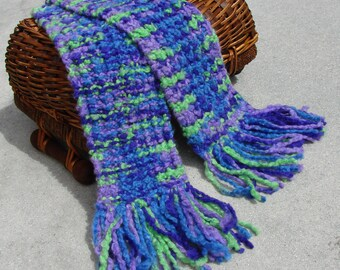 The Joker - hand knitted scarf