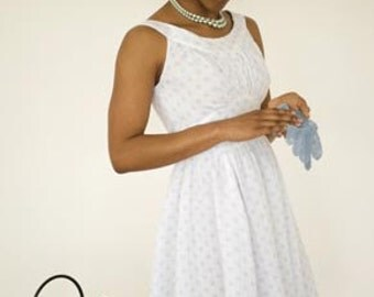Colette Sewing PATTERN - Chantilly - Dress