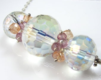 Rock Crystal in Pastel