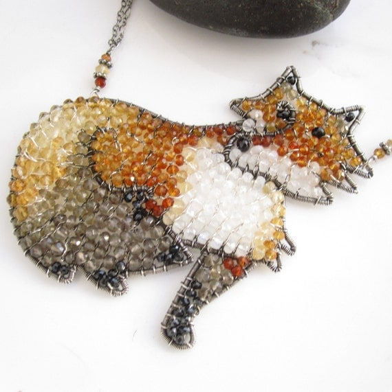 The Quick Red Fox Necklace