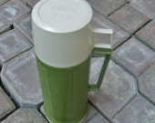 Vintage 60s 70s Thermos / vintage coffee cup /  vintage travel mug
