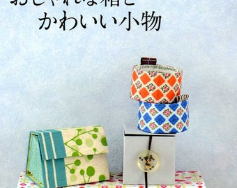 Eco and Nice Fabric Covered Boxes and Goods from Milk Cartons - JAPANESE CRAFT BOOK