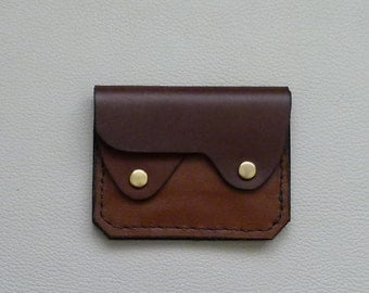 Earth Colors  Leather  Wallet, Coin Purse, Card Case