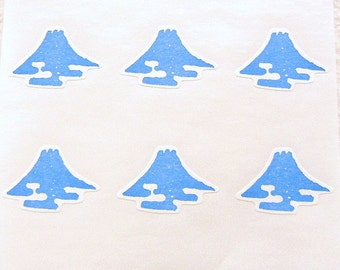 Mount Fuji Stickers Japanese Mountain (S51)