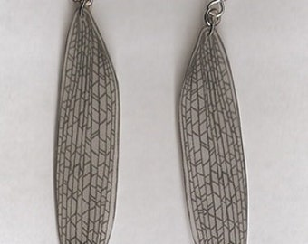 Cricket Wing Earrings