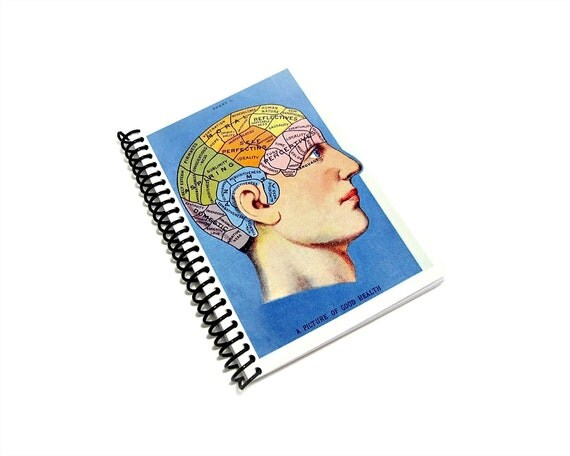 Phrenology - Notebook Spiral Bound - 4 x 6