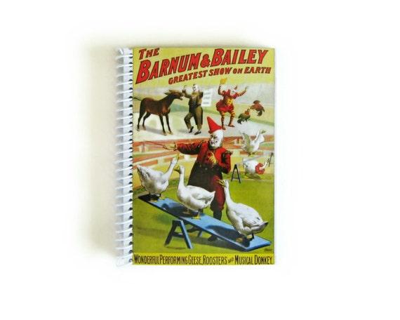 Circus - Notebook Spiral Bound - 4x6in