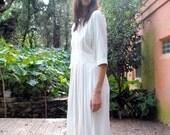 Vintage Frumpy White Dress