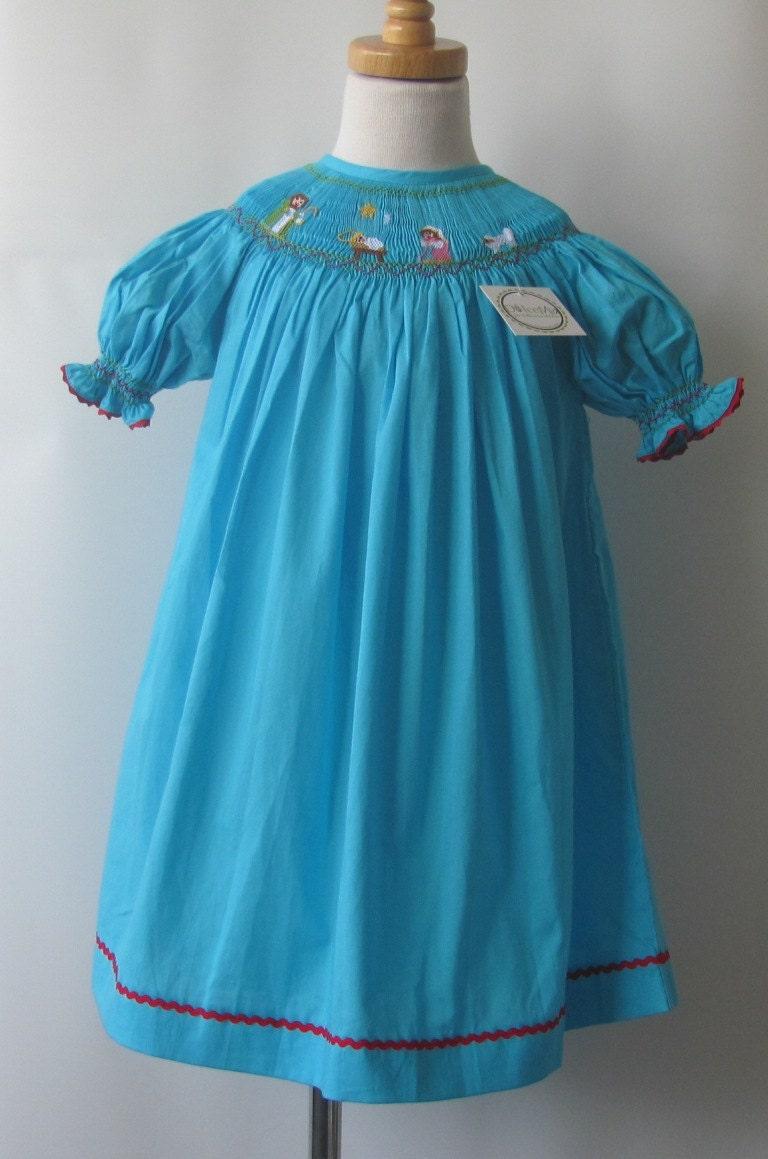 Smocked Christmas Dresses For Girls Baby Girl Toddler