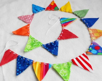 Birthday CAKE Topper Bunting Bicycle Garland Wedding Flag Circus Fabric Nursery Banner Birthday Party Streamer Photography Photo Prop