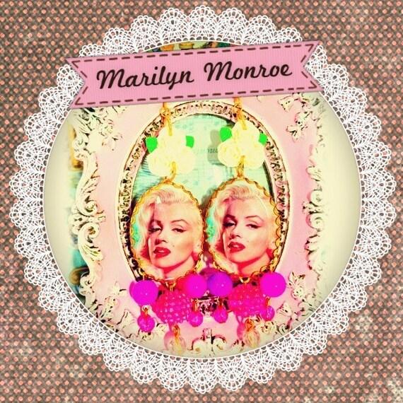 Marilyn Monroe Chandelier Earrings.