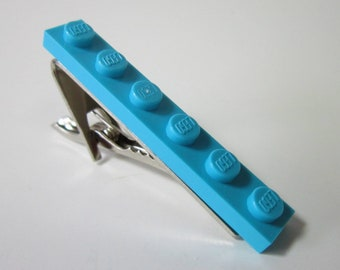 Tie Clip made with Medium Azure Lego (r) plate