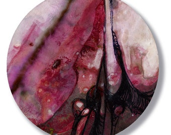 Circle Abstraction Series ... No. 36 ... Original Contemporary Modern circle painting by Kathy Morton Stanion EBSQ
