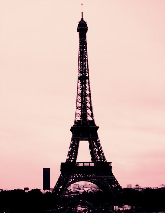 Silence and Noise- Paris Eiffel Tower Photography Print
