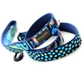 Fabric Webbing Dog Leash to match your collar - 6'  - 15 styles to choose from