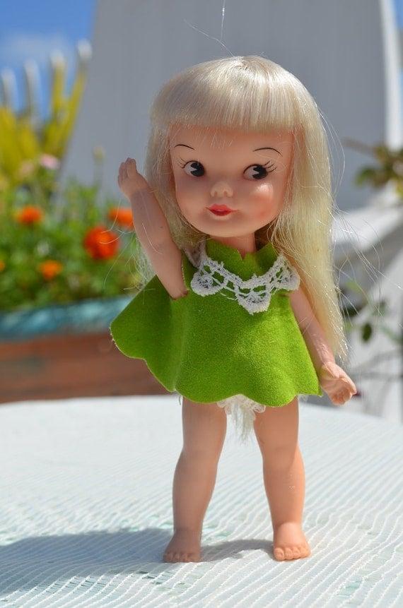 Vintage 1960's Remco Hi Heidi Doll