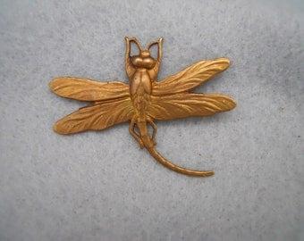 Brass Dragonfly Stamping