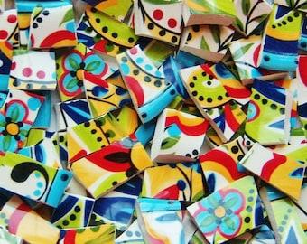 Mosaic Tiles-- Bilbao Paisley-100 Tiles