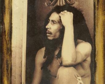 Robert Nesta Marley - Bob Marley - Wooden Plaque
