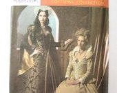 Simplicity 4508 sizes 8, 10, 12, 14 Tudor Era Sewing Pattern