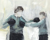 Boxing Boys No.4