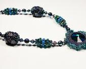Beaded Bead Garden Necklace