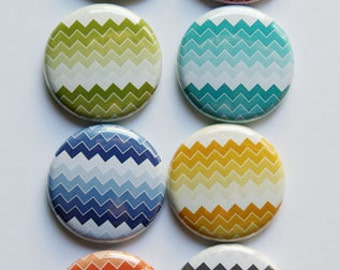 Ombre Chevron Flair