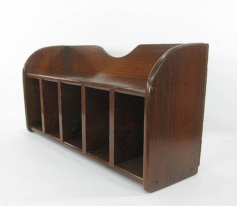 Unique A Hans Wegner Danish Teak Wood Desk Organizer C196039s