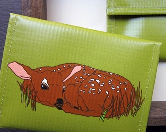 Fawn Coin Purse / Pouch / Wallet --Eco Friendly