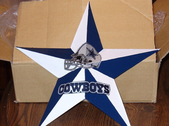 12 dallas cowboy metal star for Dallas cowboys arts and crafts