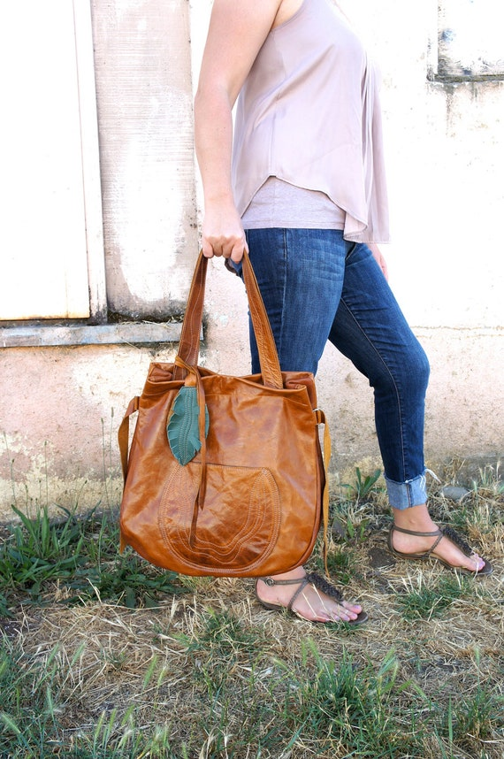 NEW//JOSEPHINE Traveler In Chestnut Brown Leather