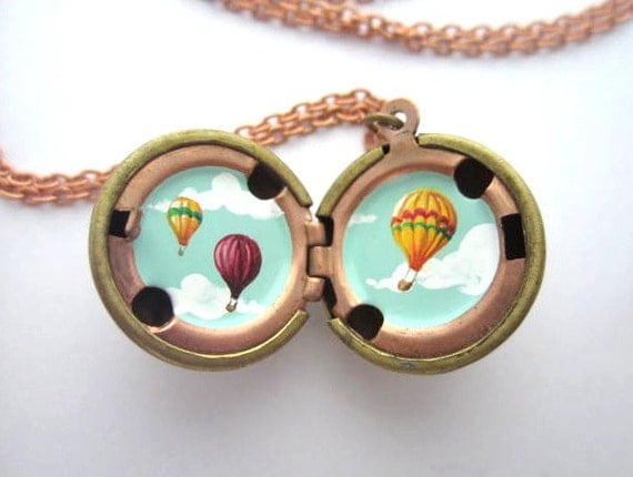 Reserved for Kristina - set of three lockets