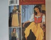Uncut Simplicity Renaissance Women's Costume Size 12-20