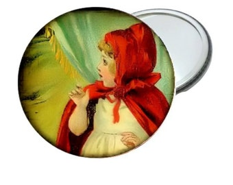 Mirror - Cute Little Red Riding Hood