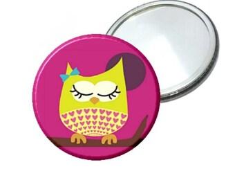Mirror - Cute Girl Owl